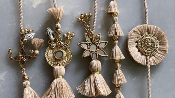 Best designs for Traditional Rakhi